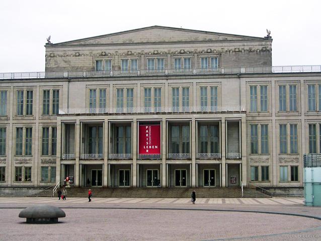 Oper Leipzig Opera House Leipzig Germany Opera Online The Opera Lovers Web Site