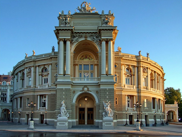 Image result for odessa opera house images