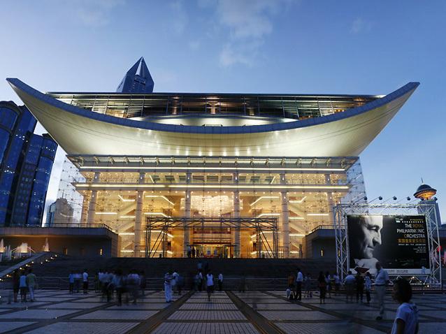 Resultado de imagem para Shanghai Grand Theatre