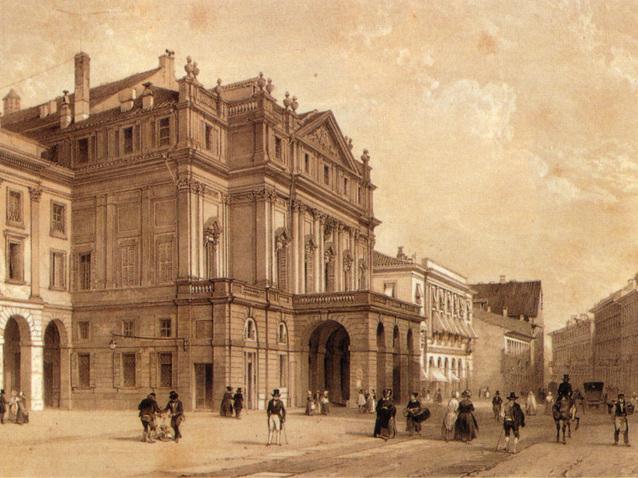 Calendario Teatro Alla Scala.Teatro Alla Scala A Milano Opera House Milano Italy