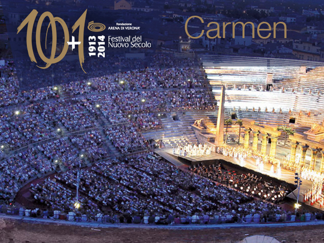 ... Production - Verona, italy) | Opera Online - The opera lovers web site: https://www.opera-online.com/en/items/productions/carmen-arena-di...