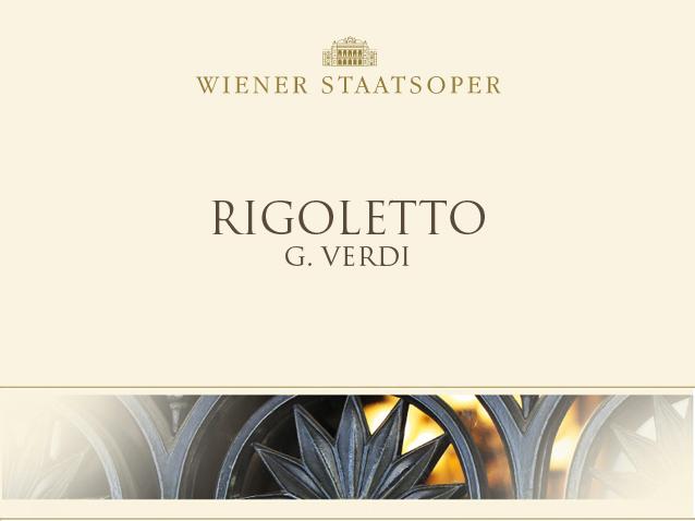 Rigoletto Wiener Staatsoper 2014 2015 Production Wien