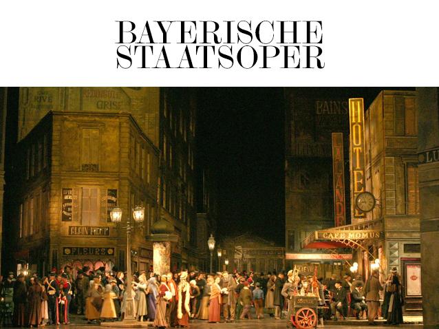 La bohème - Bayerische Staatsoper (2015-2016) (Produktion - Münich,  deutschland) | Opera Online - Die Website für Opernliebhaber