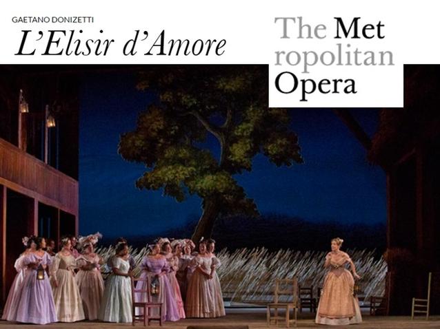The Elixir Of Love The Metropolitan Opera 2018