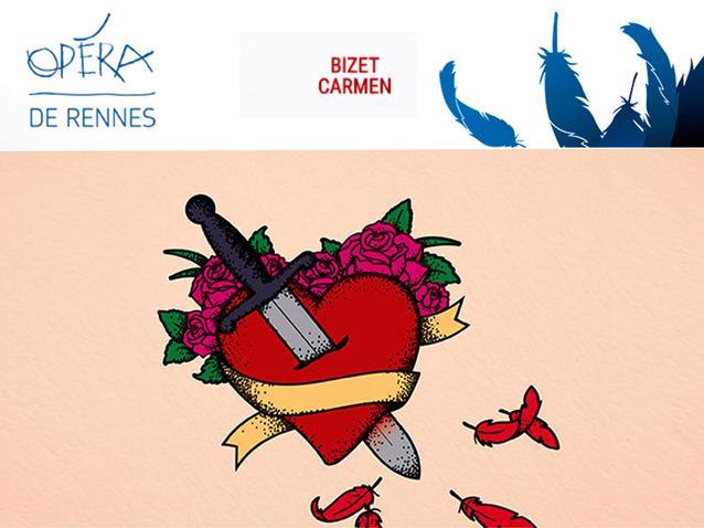 carmen rennes opera house 2017 production rennes france