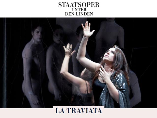 La Traviata Staatsoper Unter Den Linden Berlin 2018 Produktion