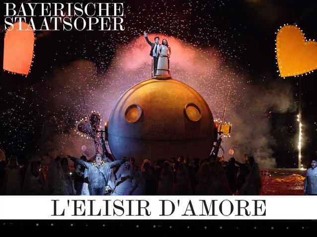 L'Elisir d'amore - Bayerische Staatsoper (2019) (Produktion ...