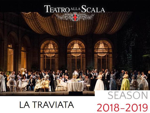 Calendario Teatro Alla Scala.La Traviata Teatro Alla Scala 2019 Production Milano