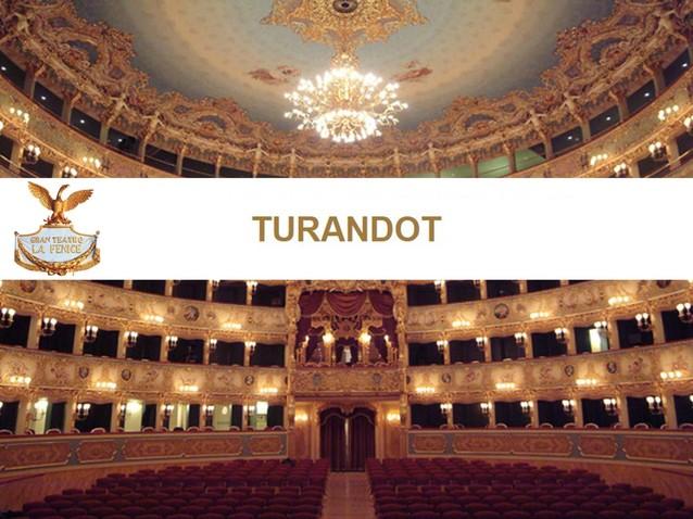 Bildergebnis für venedig la fenice turandot