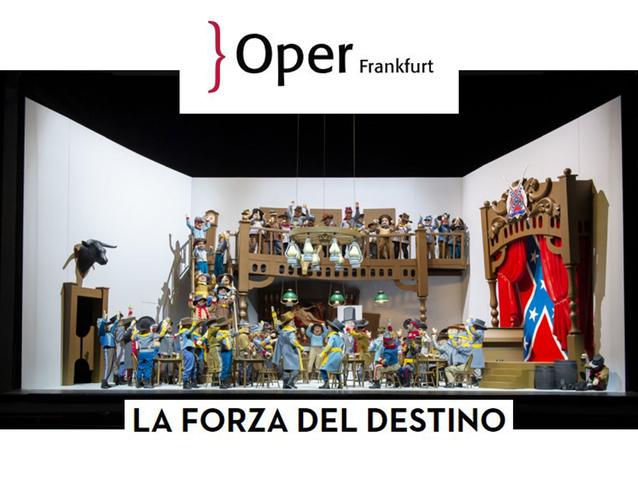 designer fashion exclusive shoes super quality La forza del destino - Oper Frankfurt (2019) (Produktion ...