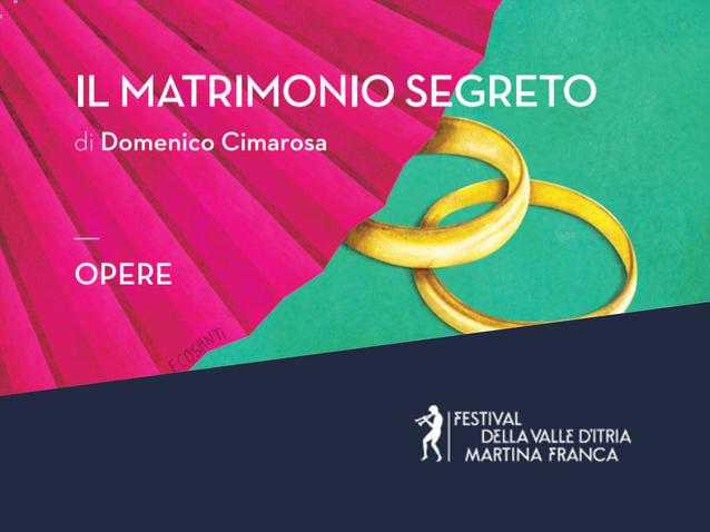 Bildergebnis für martina franca festival i matrimonio segreto