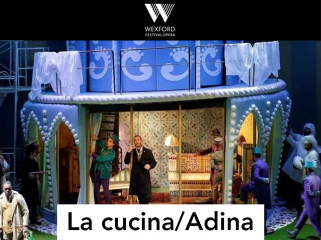 La cucina - Wexford Opera (2019) (Produktion - Wexford ...