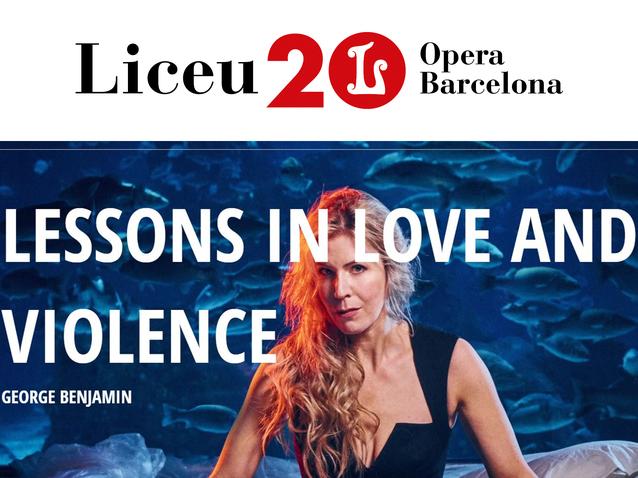 Lessons in Love and Violence - Gran Teatre del Liceu Barcelona (2021)  (Produktion - Barcelona, spanien) | Opera Online - Die Website für  Opernliebhaber