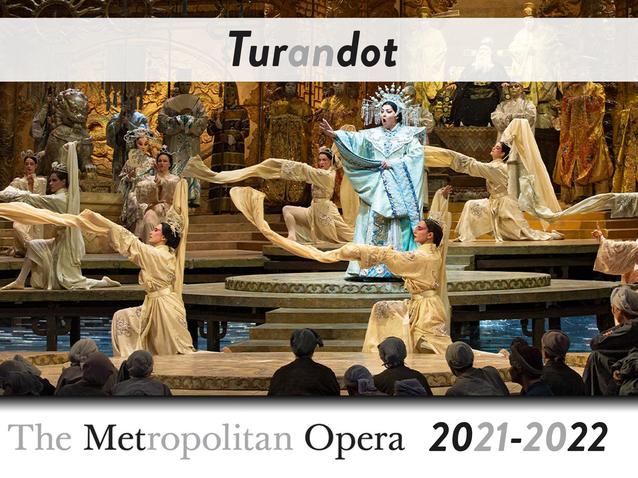 Turandot Aufführungen 2021