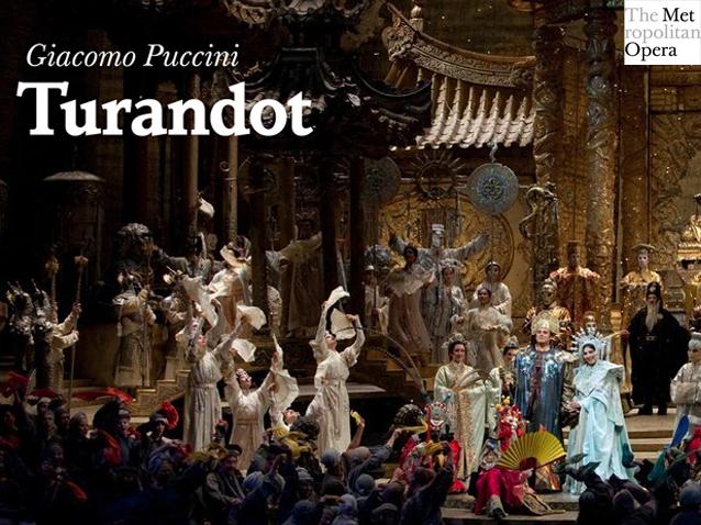 turandot - met  2012-2013   production