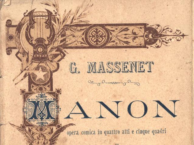 Bildergebnis für MANON massenet