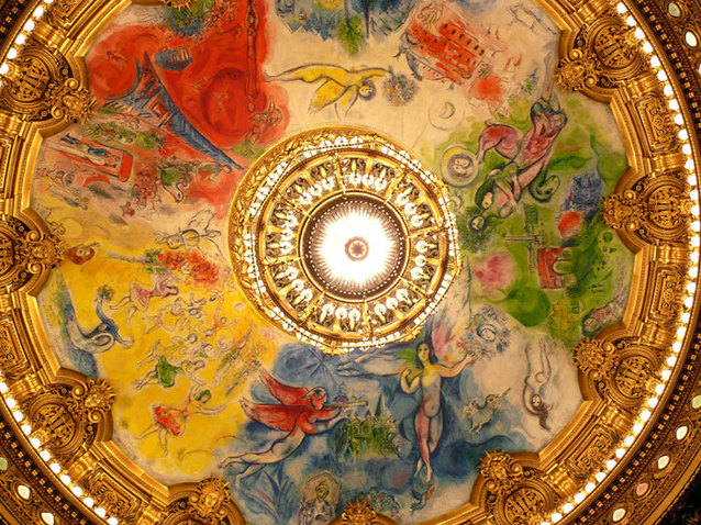 Et si les pneus dorés installés sur le grand escalier de l'Opéra de Paris étaient le révélateur des dysfonctionnements de la Macronie? Xl_opera_garnier_-_chagall_ceiling