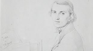 Charles Gounod, par Ingres