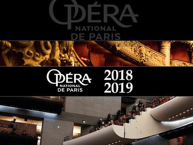 The Paris Opera presents its 2018-2019 anniversary season