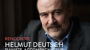 Rencontre avec Helmut Deutsch, pianiste et accompagnateur