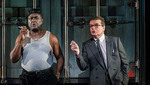 WILLARD W. WHITE as TRINITY MOSES; PETER HOARE as FATTY (c) ROH. photo by Clive Barda