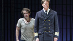Jacques Imbrailo as Billy Budd, Toby Spence as Captain Edward Fairfax Vere (C) ROH 2019 / Catherine Ashmore